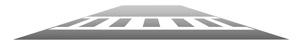 Marcajul rutier de tip scară. Sursa: guide.saferoutesinfo.org
